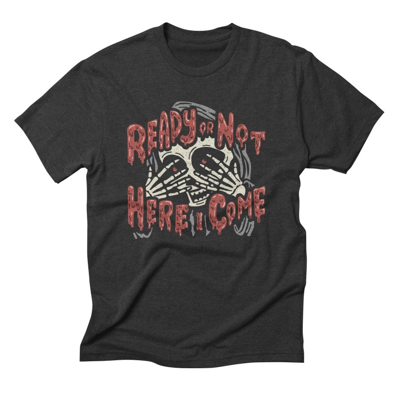 The Grim Seeker Men's Triblend T-shirt by Ibyes