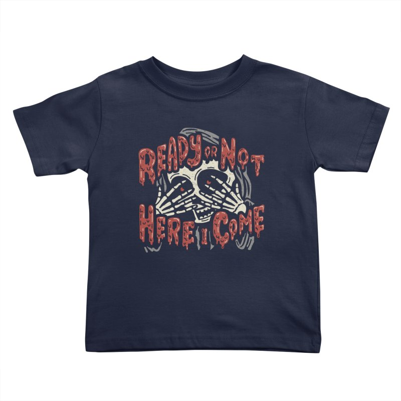 The Grim Seeker Kids Toddler T-Shirt by Ibyes