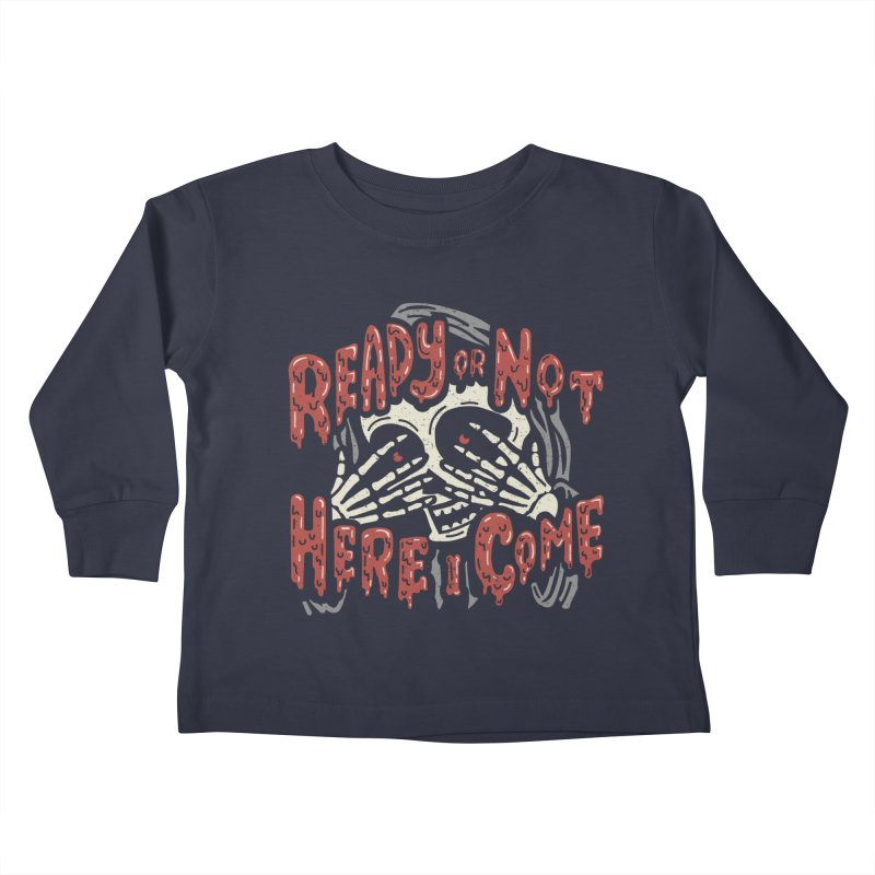 The Grim Seeker Kids Toddler Longsleeve T-Shirt by Ibyes