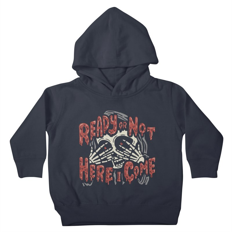 The Grim Seeker Kids Toddler Pullover Hoody by Ibyes