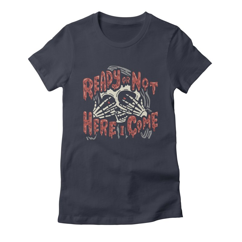 The Grim Seeker Women's Fitted T-Shirt by Ibyes