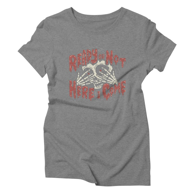 The Grim Seeker Women's Triblend T-shirt by Ibyes
