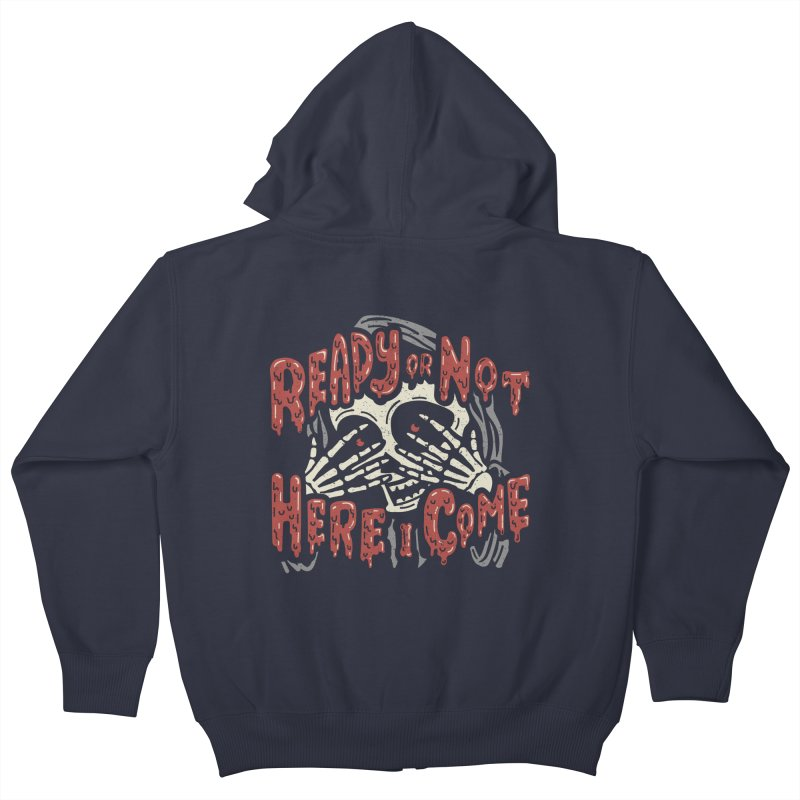 The Grim Seeker Kids Zip-Up Hoody by Ibyes