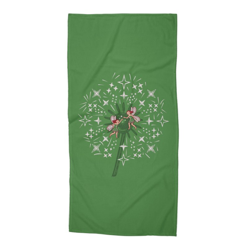 Fairy Fist Bump Accessories Beach Towel by Ibyes