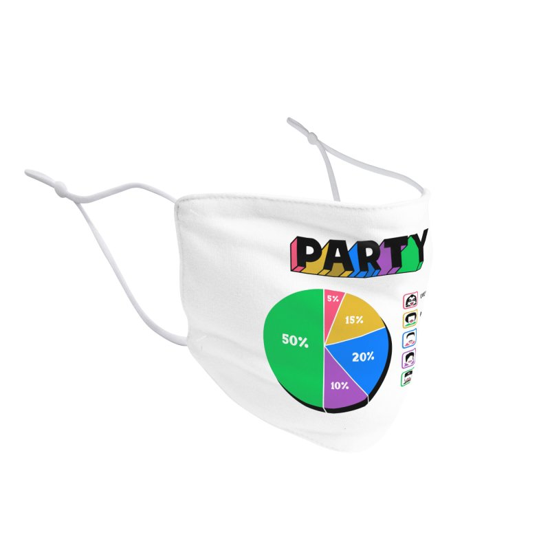 Party Charty Accessories Face Mask by Ibyes