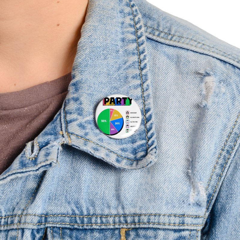Party Charty Accessories Button by Ibyes
