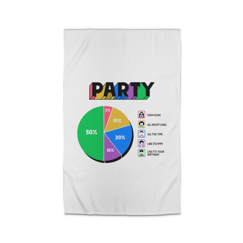 Party Charty Home Rug by Ibyes
