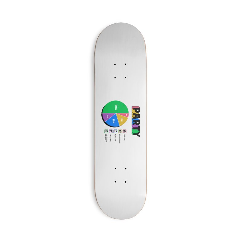 Party Charty Accessories Skateboard by Ibyes