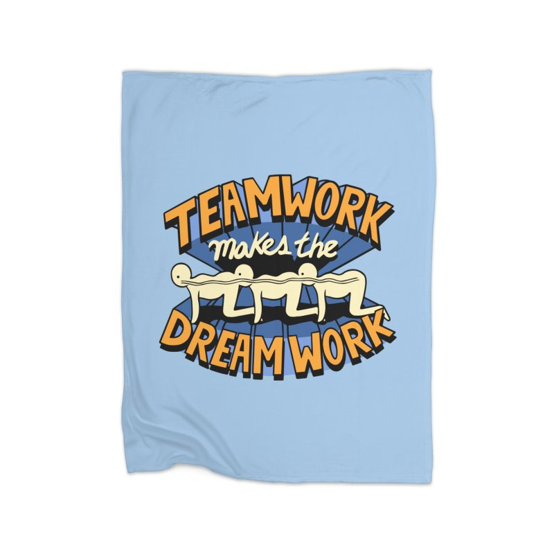 Teamwork Home Blanket by Ibyes