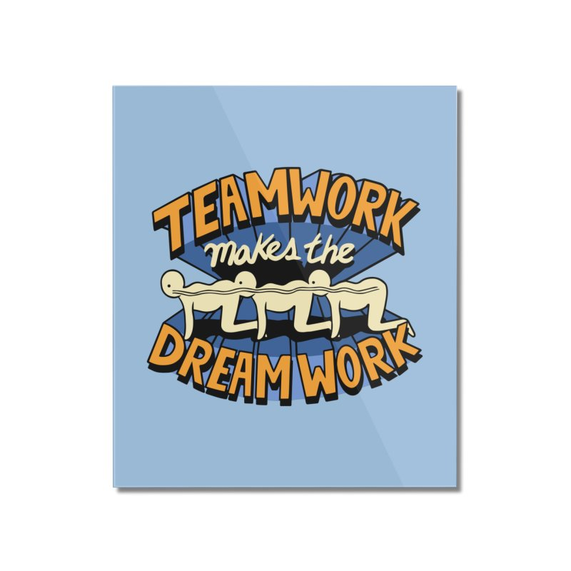 Teamwork Home Mounted Acrylic Print by Ibyes