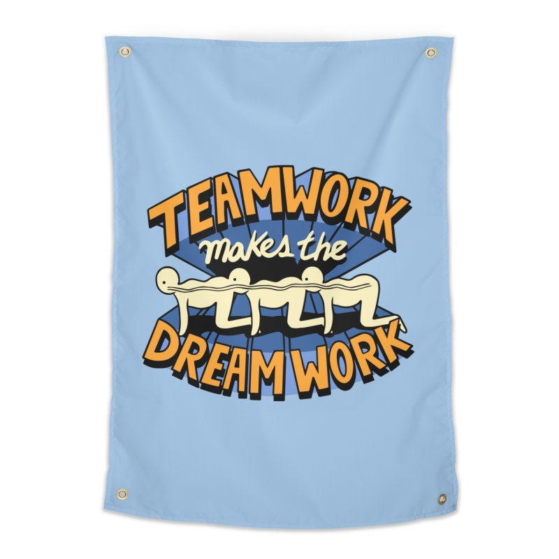 Teamwork Home Tapestry by Ibyes