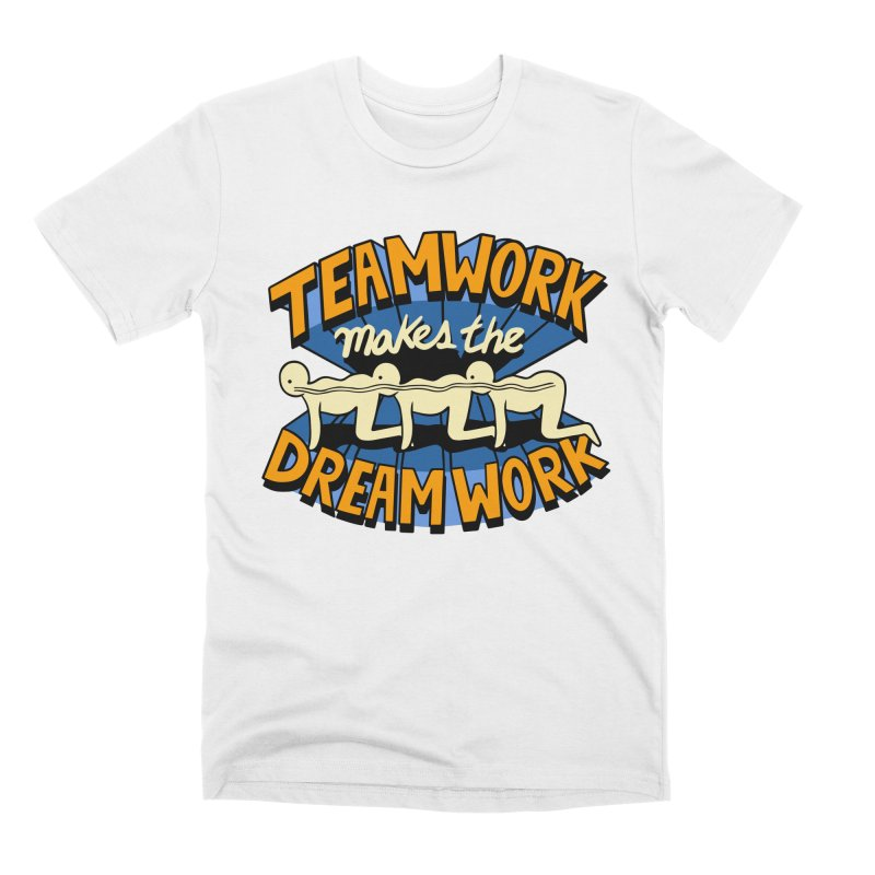 Teamwork Men's T-Shirt by Ibyes