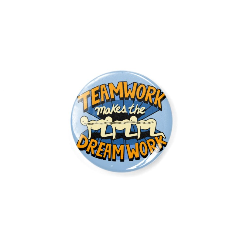 Teamwork Accessories Button by Ibyes