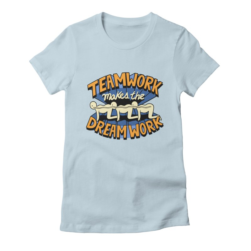 Teamwork Women's T-Shirt by Ibyes