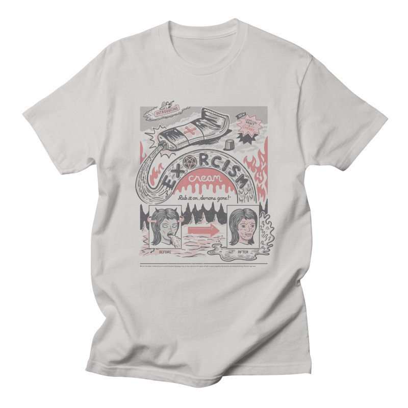 Exorcism Cream Men's T-shirt by Ibyes