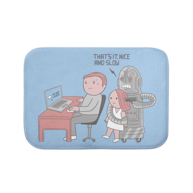 Not Bot Home Bath Mat by Ibyes