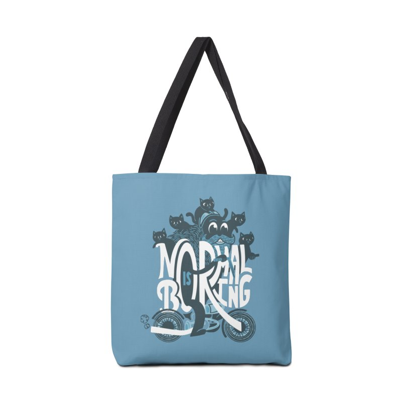 Normal is Boring Accessories Bag by Ibyes