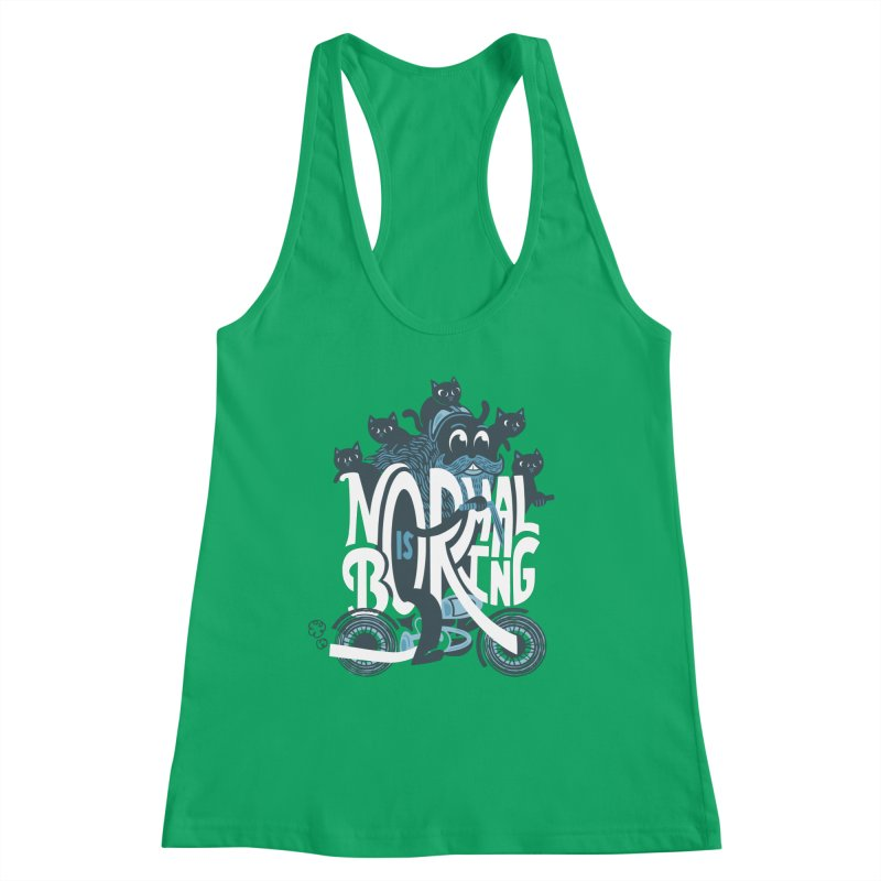 Normal is Boring Women's Tank by Ibyes