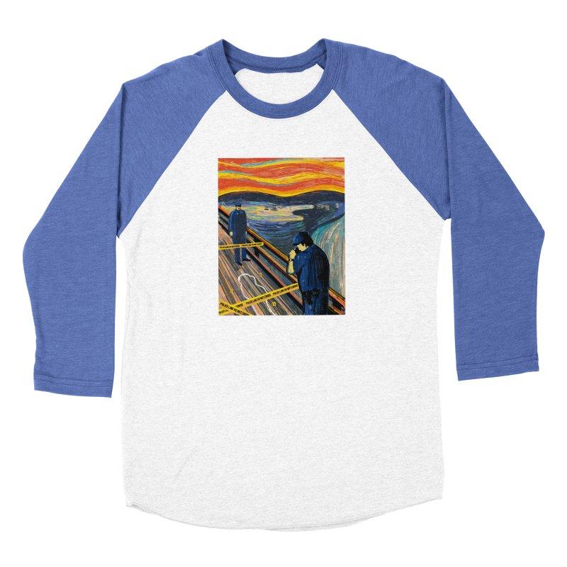 Crime Scream Men's Longsleeve T-Shirt by Ibyes