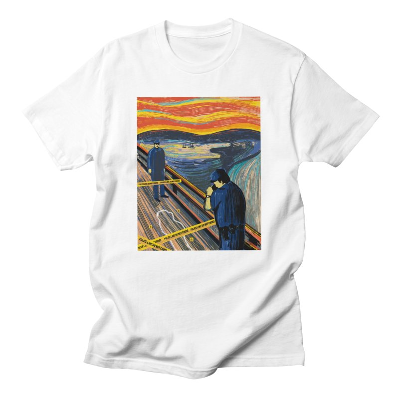 Crime Scream Men's T-Shirt by Ibyes