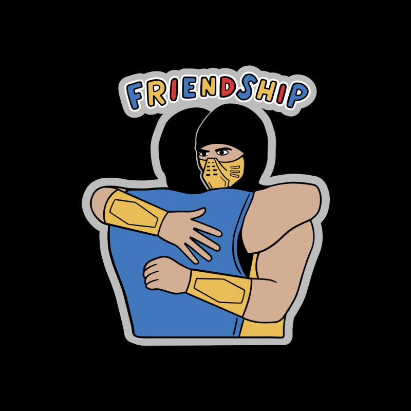 Friendship Men's T-Shirt by Ibyes