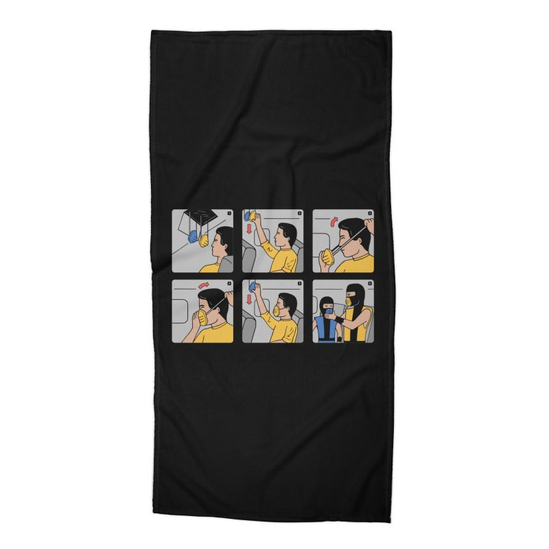 Emergency Kosplay Accessories Beach Towel by Ibyes