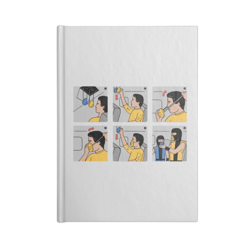 Emergency Kosplay Accessories Notebook by Ibyes