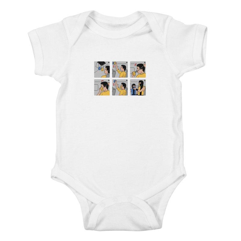 Emergency Kosplay Kids Baby Bodysuit by Ibyes