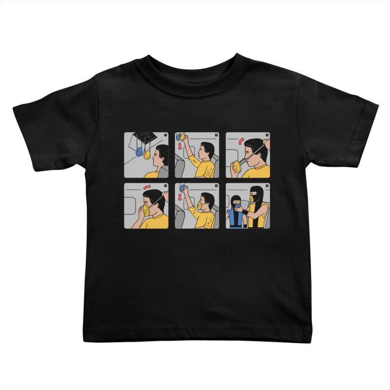 Emergency Kosplay Kids Toddler T-Shirt by Ibyes