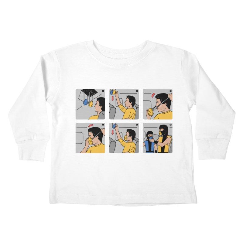 Emergency Kosplay Kids Toddler Longsleeve T-Shirt by Ibyes