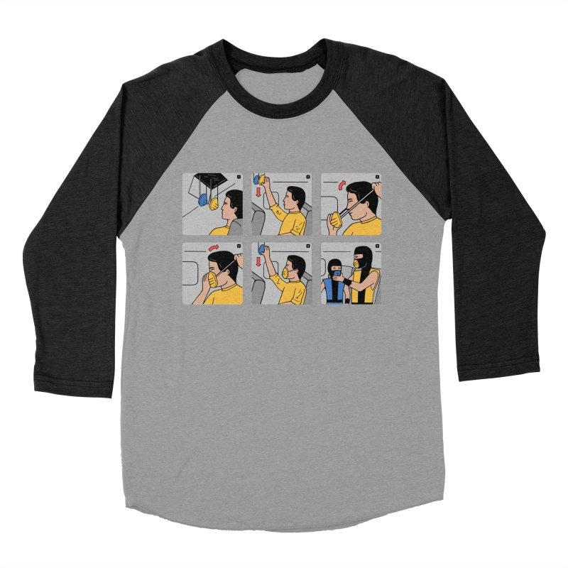 Emergency Kosplay Women's Baseball Triblend Longsleeve T-Shirt by Ibyes
