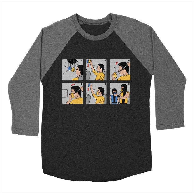 Emergency Kosplay Men's Baseball Triblend T-Shirt by Ibyes