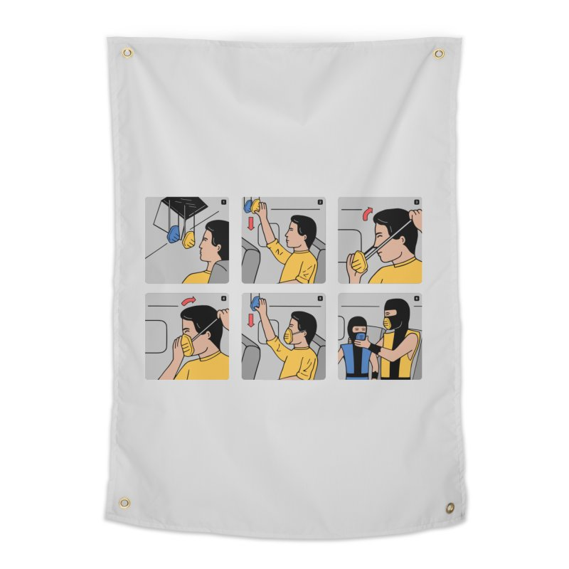 Emergency Kosplay Home Tapestry by Ibyes
