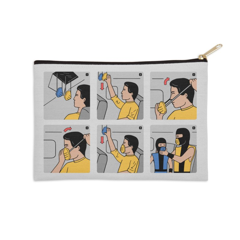 Emergency Kosplay Accessories Zip Pouch by Ibyes