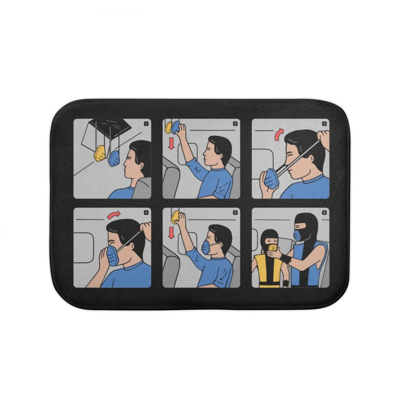 Emergency Kosplay Redux Home Bath Mat by Ibyes