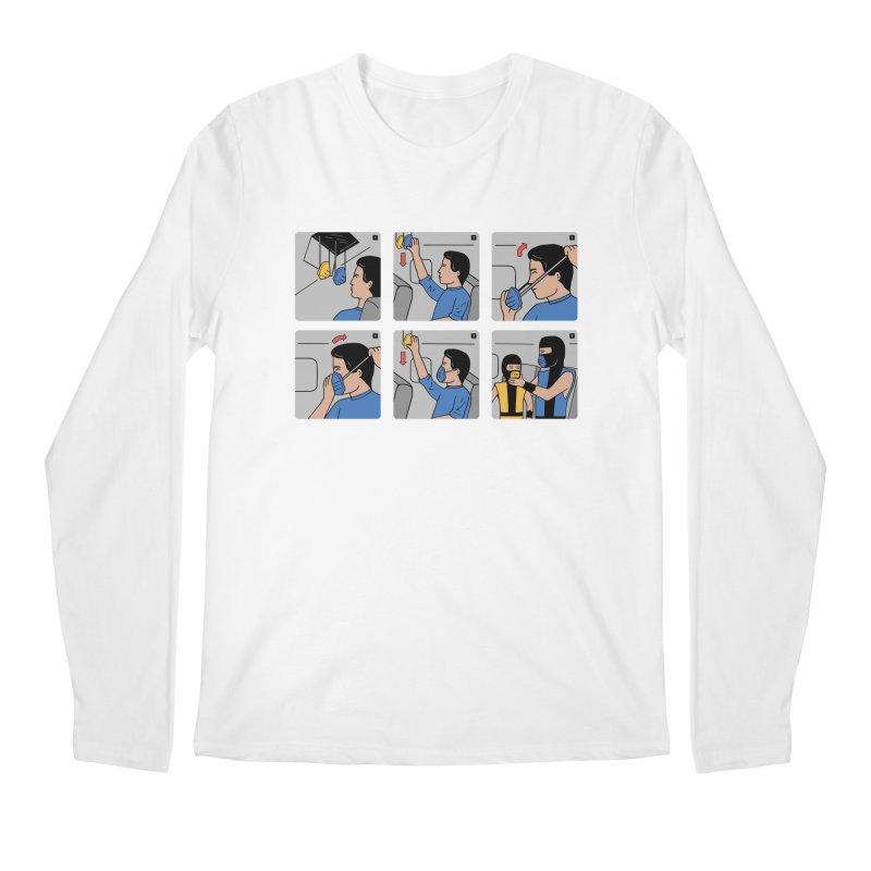 Emergency Kosplay Redux Men's Regular Longsleeve T-Shirt by Ibyes