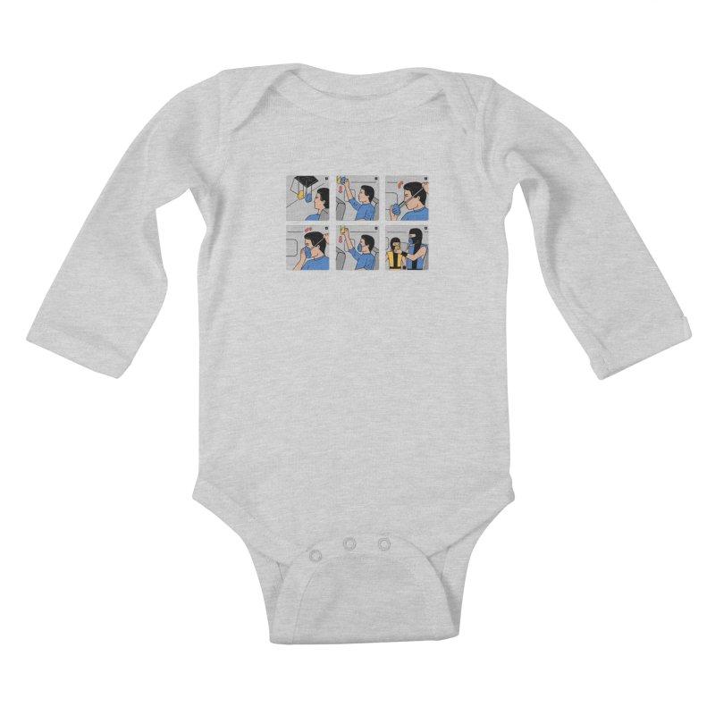 Emergency Kosplay Redux Kids Baby Longsleeve Bodysuit by Ibyes