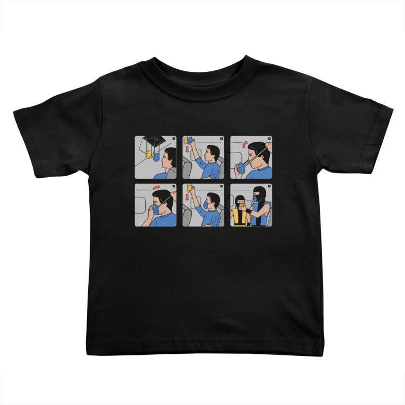 Emergency Kosplay Redux Kids Toddler T-Shirt by Ibyes