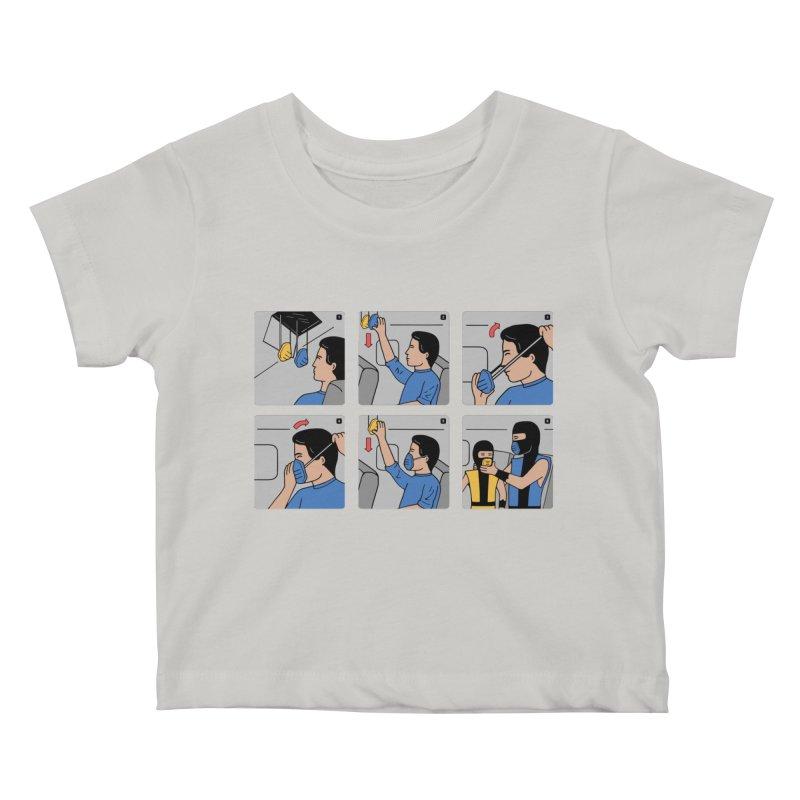 Emergency Kosplay Redux Kids Baby T-Shirt by Ibyes