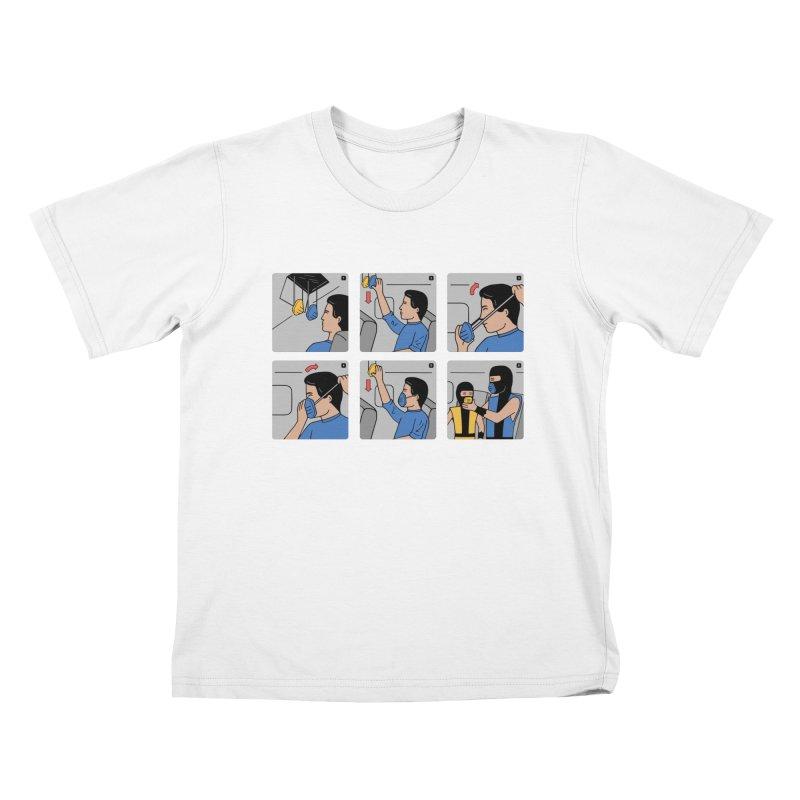 Emergency Kosplay Redux Kids T-Shirt by Ibyes