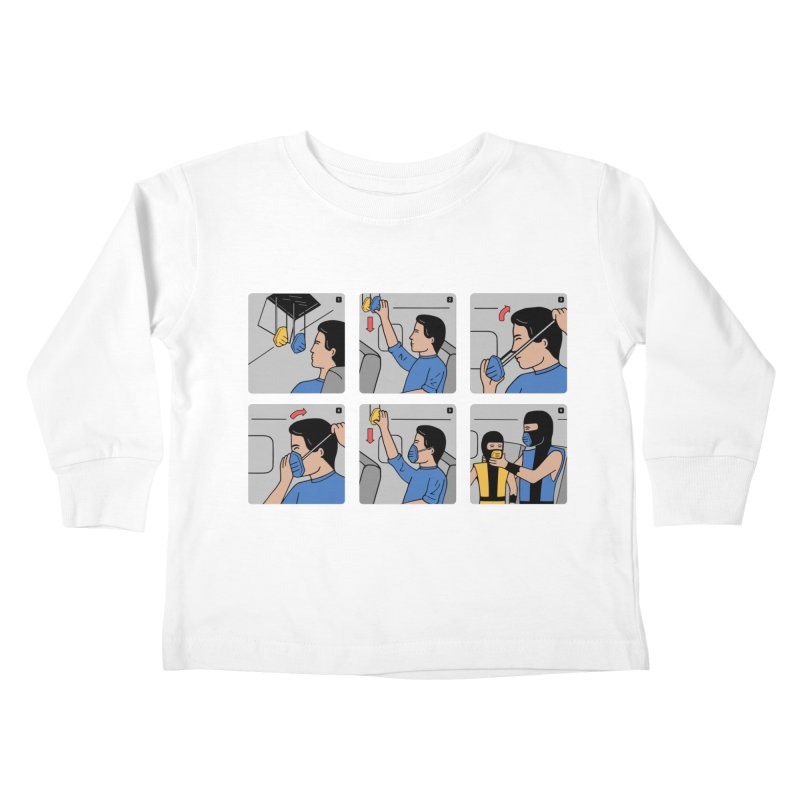 Emergency Kosplay Redux Kids Toddler Longsleeve T-Shirt by Ibyes