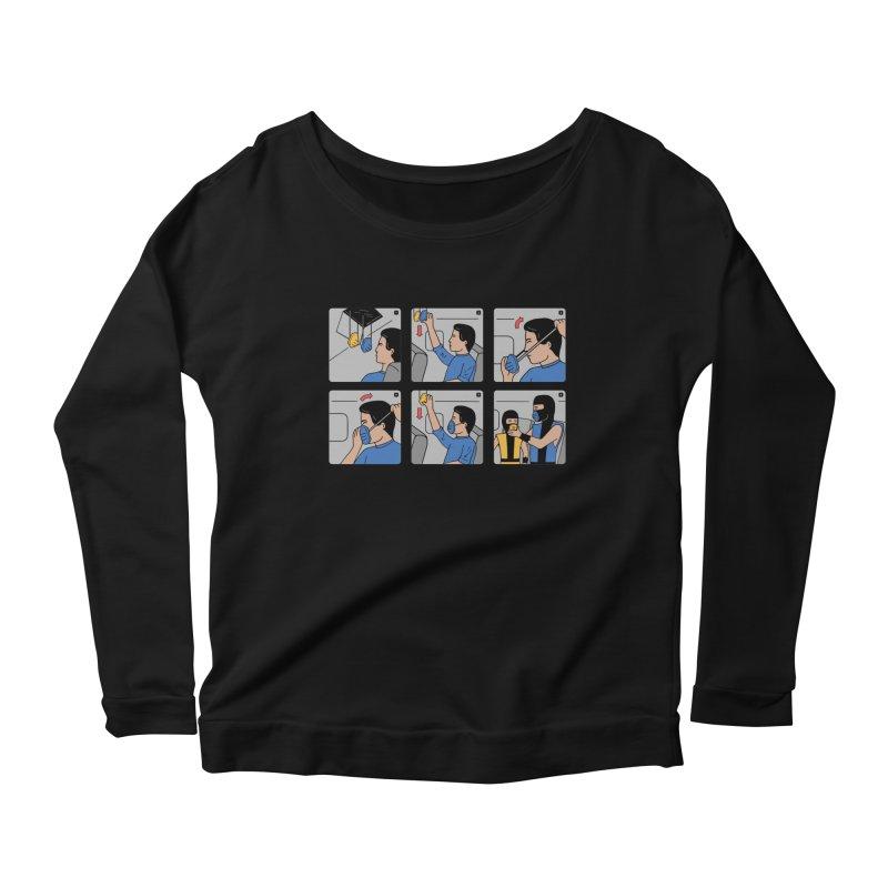 Emergency Kosplay Redux Women's Scoop Neck Longsleeve T-Shirt by Ibyes