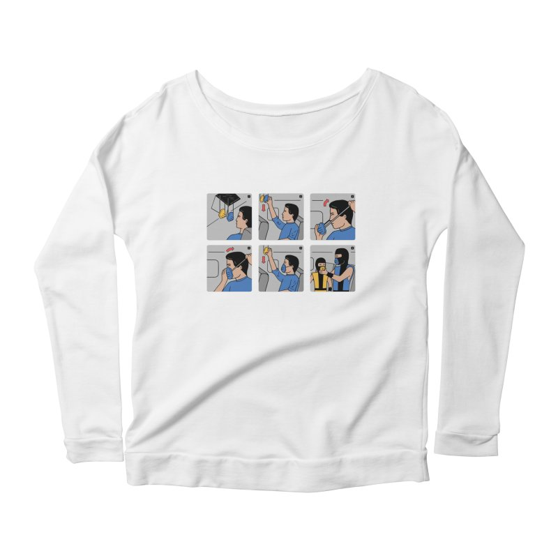 Emergency Kosplay Redux Women's Longsleeve Scoopneck  by Ibyes