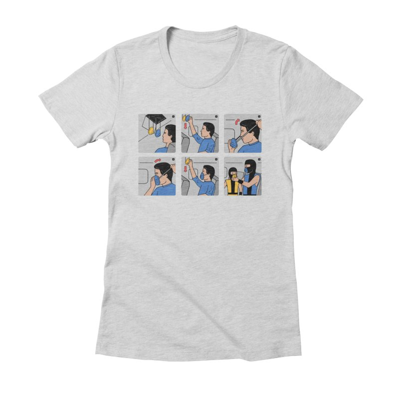 Emergency Kosplay Redux Women's Fitted T-Shirt by Ibyes