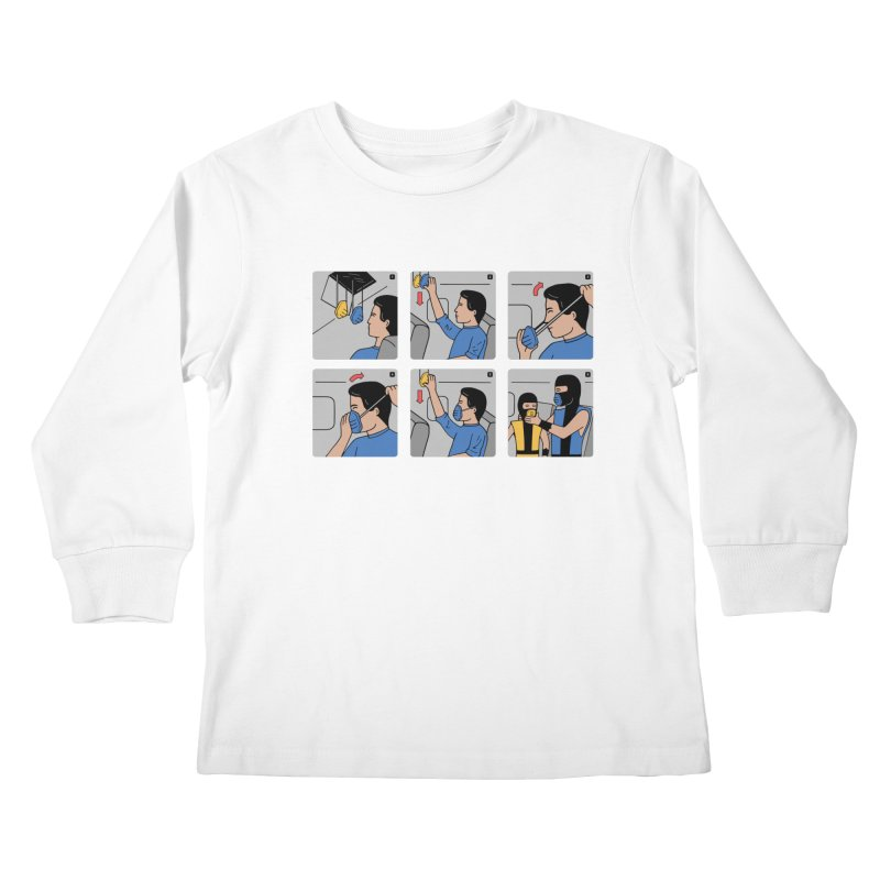 Emergency Kosplay Redux Kids Longsleeve T-Shirt by Ibyes