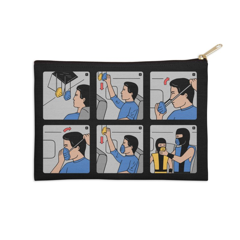 Emergency Kosplay Redux Accessories Zip Pouch by Ibyes