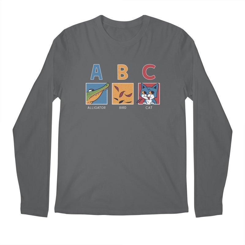 A-B See Ya! Men's Longsleeve T-Shirt by Ibyes