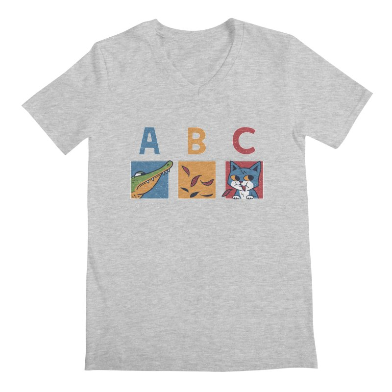 A-B See Ya! Men's V-Neck by Ibyes