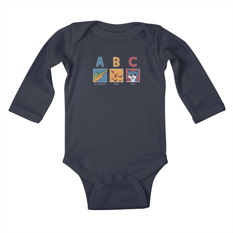 A-B See Ya! Kids Baby Longsleeve Bodysuit by Ibyes