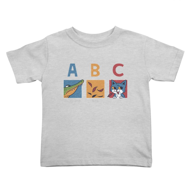A-B See Ya! Kids Toddler T-Shirt by Ibyes